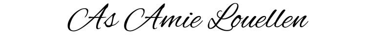 As Amie Louellen Amy Lillard romance author http://www.amylillardbooks.com #AmyLillardBooks