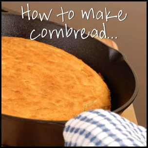 HOW TO MAKE CORNBREAD Amy Lillard romance author http://www.amylillardbooks.com #AmyLillardBooks