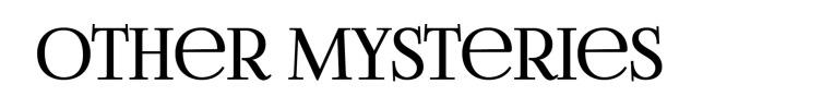 other mystery IMAGE Amy Lillard romance author http://www.amylillardbooks.com #AmyLillardBooks