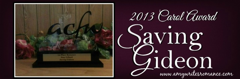CAROL AWARD 2013 Amy Lillard romance author http://www.amylillardbooks.com #AmyLillardBooks