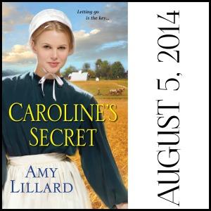 Caroline's Secret Amy Lillard romance author www.amylillardbooks.com #AmyLillardBooks