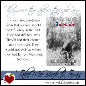 Take Me Back To Texas Amy Lillard sweet version www.amylillardbooks.com