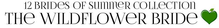 THE WILDFLOWER BRIDE 1 Amy Lillard romance author http://www.amylillardbooks.com #AmyLillardBooks